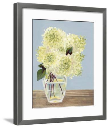 Hydrangea Vase I-Dianne Miller-Framed Art Print