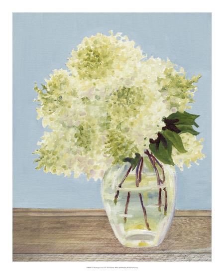Hydrangea Vase II-Dianne Miller-Art Print