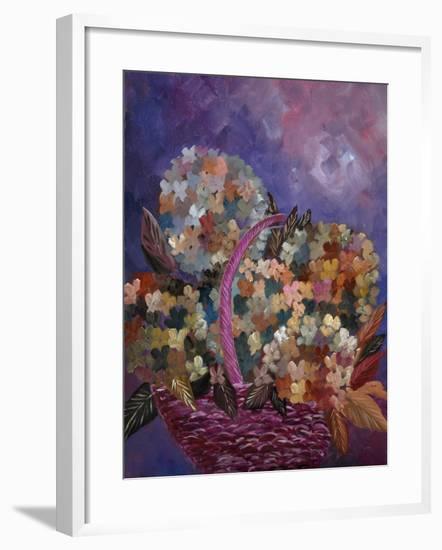 Hydrangeas 45-Pol Ledent-Framed Art Print
