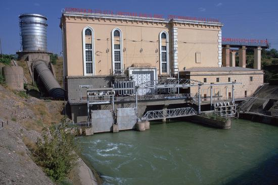 Hydroelectric power station near Tashkent-Unknown-Photographic Print