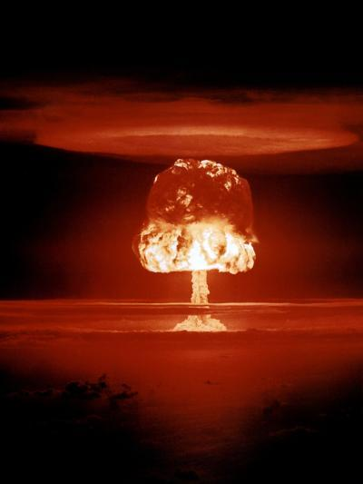 Hydrogen Bomb Explosion-u.s. Department of Energy-Photographic Print