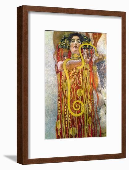 Hygeia-Gustav Klimt-Framed Art Print