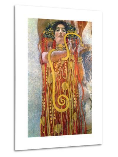 Hygeia-Gustav Klimt-Metal Print