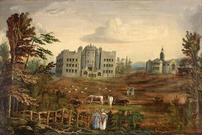 Hylton Castle, Sunderland C.1830--Giclee Print
