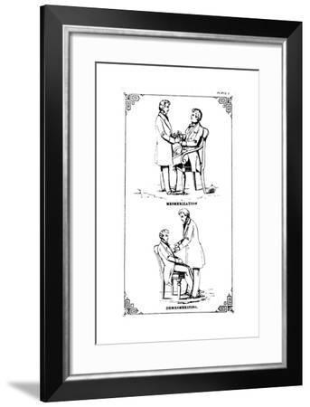 Hypnosis, 1889--Framed Giclee Print