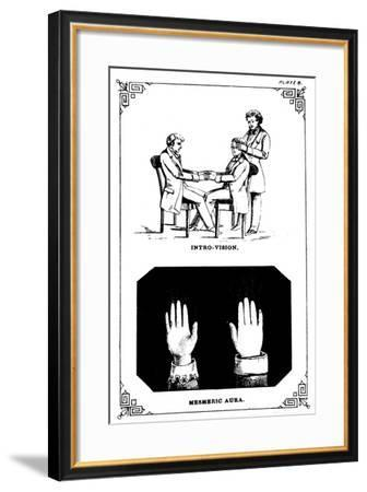 Hypnosis: Introvision (Power of Looking into a Bod), 1889--Framed Giclee Print