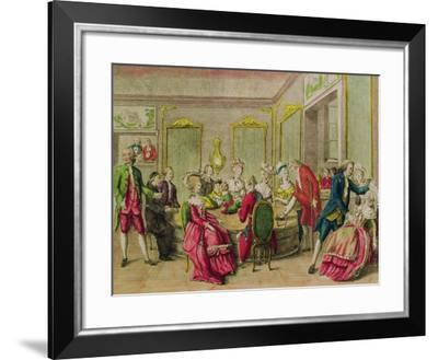 Hypnotism Session with Anton Mesmer 1784--Framed Giclee Print