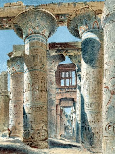 Hypostyle Hall, Temple of Amon-Re, Karnak, Ancient Egypt, 14th-13th Century BC--Giclee Print