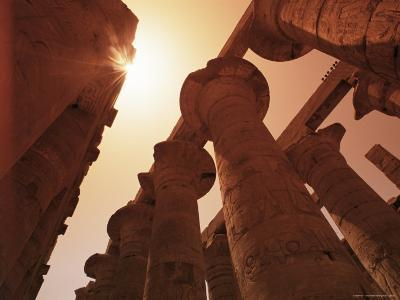 Hypostyle Hall, Temple of Karnak, Thebes, Unesco World Heritage Site, Egypt, North Africa, Africa-Nico Tondini-Photographic Print
