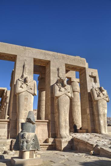 Hypostyle Hall, the Ramesseum (Mortuary Temple of Ramese Ii), Luxor-Richard Maschmeyer-Photographic Print