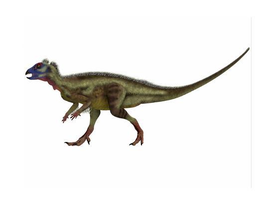 Hypsilophodon Is an Ornithopod Dinosaur from the Cretaceous Period--Art Print