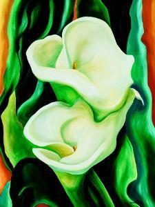 Calla lilies by Hyunah Kim
