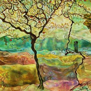 Tree And A Bird by Hyunah Kim