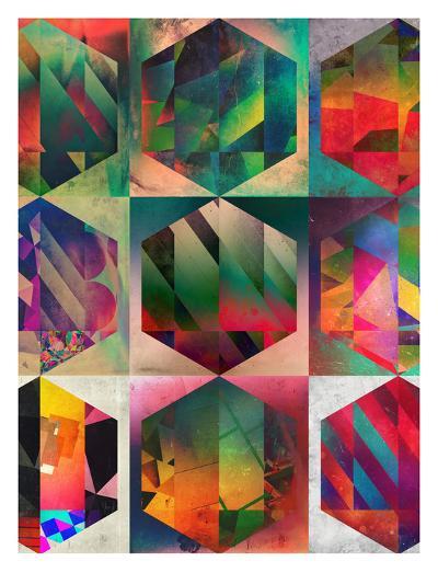 Hyxy-Spires-Art Print