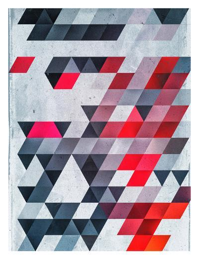 Hyyldh_Xhyymwy-Spires-Art Print