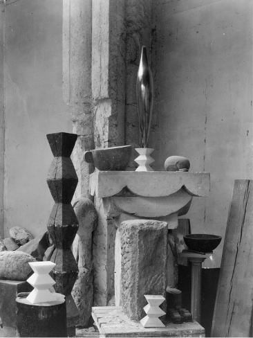 Art Print: Brancusi's Studio, 1920 by Edward Steichen : 16x12in