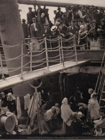 Art Print: The Steerage, 1901 by Alfred Stieglitz : 12x9in