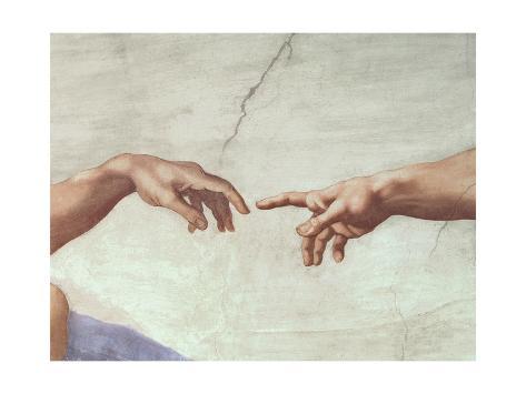 Giclee Print: Michelangelo Buonarroti Art Print by Michelangelo Buonarroti : 16x12in