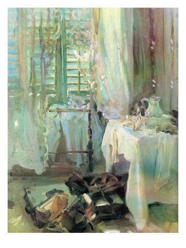 A Hotel Room, John Singer Sargent