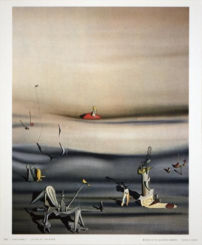Collectable Print: Jours de Lenteur by Yves Tanguy : 12x10in