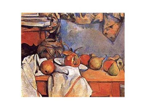 Art Print: Fruit by Paul C�zanne : 23x29in