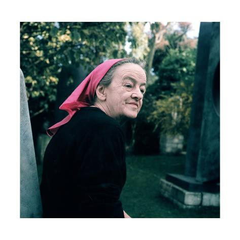 Giclee Print: Portrait of Dame Barbara Hepworth : 16x16in