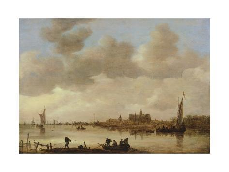 Giclee Print: Landscape, by Jan Van Goyen : 24x18in