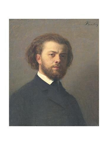 Giclee Print: Self Portrait, 1867 by Henri Fantin-Latour : 24x18in