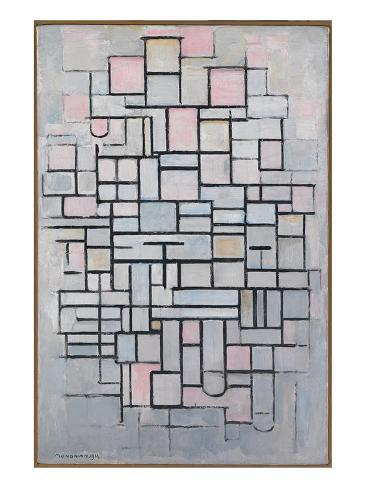 Art Print: Composition No. IV by Piet Mondrian : 32x24in