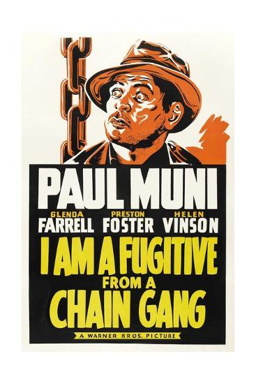 I Am a Fugitive from a Chain Gang, 1932--Giclee Print