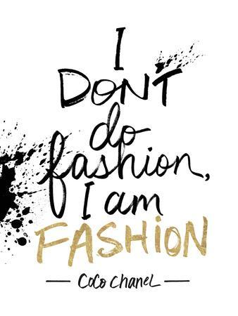 I am Fashion!-Lottie Fontaine-Giclee Print