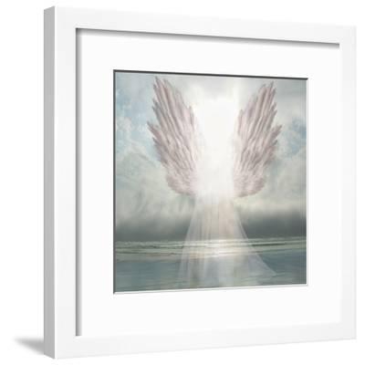 I Am Guided-David M (Maclean)-Framed Art Print