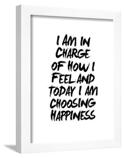 I Am In Charge Of How I Feel-Brett Wilson-Framed Art Print