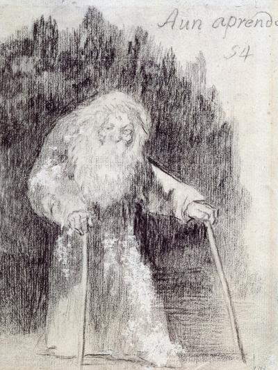 I Am Still Learning-Francisco de Goya-Giclee Print