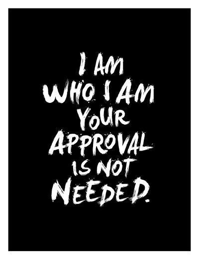 I Am Who I Am-Brett Wilson-Art Print