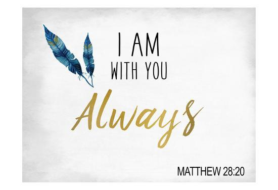 I am With You-Kimberly Allen-Art Print