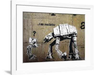 I am your father-Banksy-Framed Giclee Print