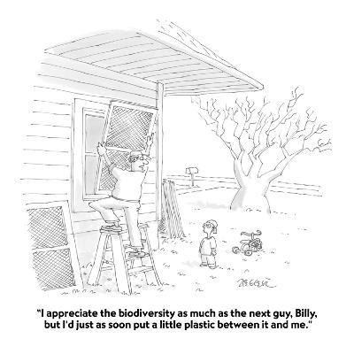 """""""I appreciate the biodiversity as much as the next guy, Billy, but I'd jus?"""" - Cartoon-Jack Ziegler-Premium Giclee Print"""