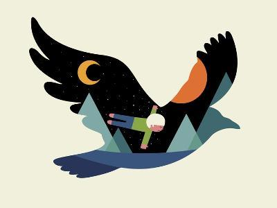 I Believe I Can Fly-Andy Westface-Giclee Print