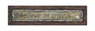 I Believe in Angels-Karen Tribett-Art Print