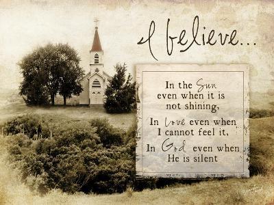 I Believe-Jennifer Pugh-Art Print