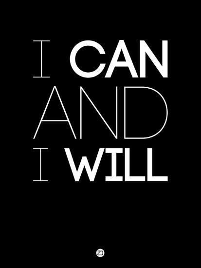 I Can and I Will 1-NaxArt-Premium Giclee Print