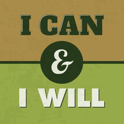 I Can and I Will 1-Lorand Okos-Art Print