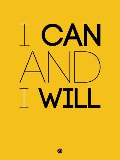 I Can and I Will 2-NaxArt-Art Print