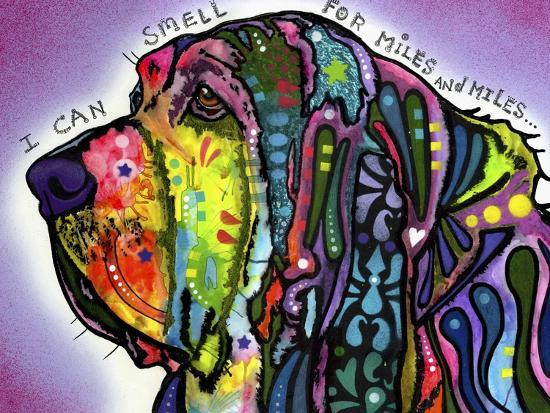 I Can Smell (Bloodhound)-Dean Russo-Giclee Print