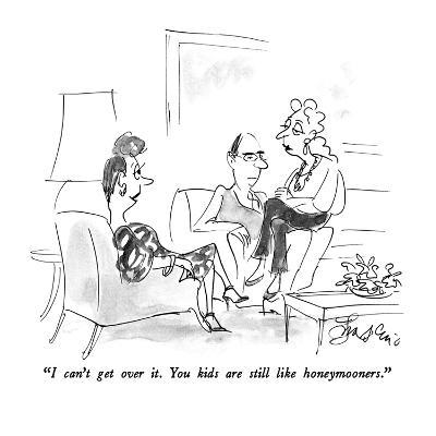 """""""I can't get over it.  You kids are still like honeymooners."""" - New Yorker Cartoon-Edward Frascino-Premium Giclee Print"""