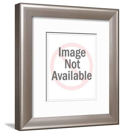 """""""I can't right now. My spurs are stuck together."""" - New Yorker Cartoon-Leo Cullum-Framed Premium Giclee Print"""