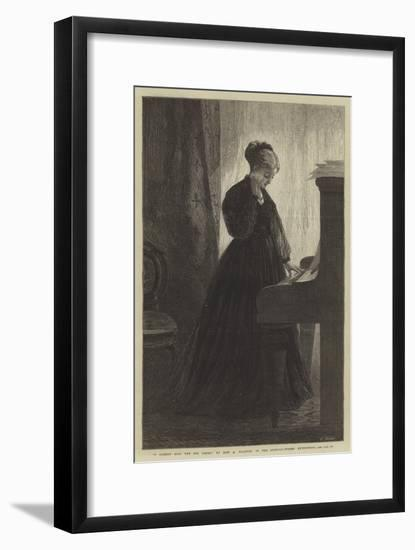 I Cannot Sing the Old Songs, in the Suffolk-Street Exhibition-Adelaide Claxton-Framed Giclee Print