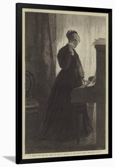 I Cannot Sing the Old Songs, in the Suffolk-Street Exhibition-Adelaide Claxton-Framed Premium Giclee Print