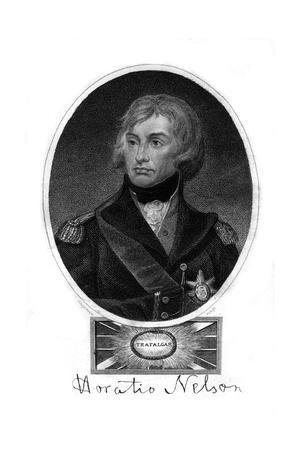 Horatio Nelson (1758-180), 1st Viscount Nelson, 1837